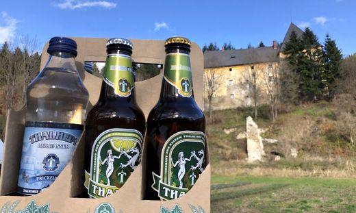 Heilwasser, Radler und Märzenbier - alles aus Thalheim