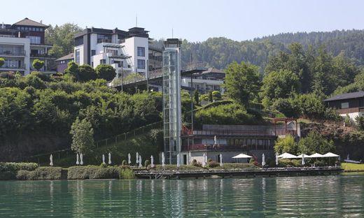 Immo Immobilien Kleine Zeitung Makler Woerthersee Runde Immobilienbesichtigung vom See aus