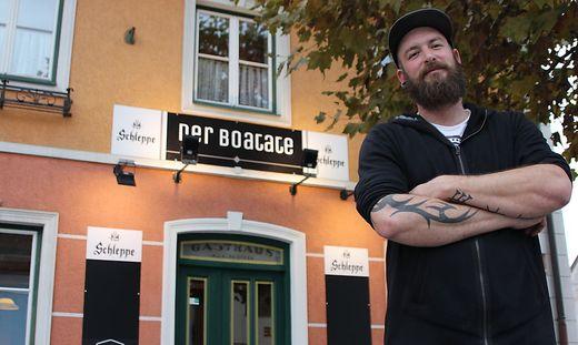 """Peter Hauser ist als """"Der Boatate"""" bekannt"""