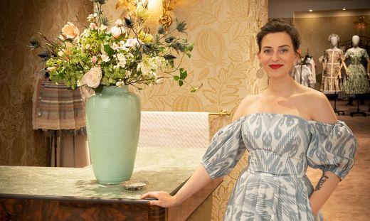 Lena Hoschek eroeffnet neuen Wiener Flagship Store
