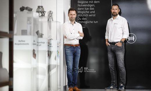 Michael Lorenzer, CFO der Kilgergruppe, stößt als Prokurist ins Führungsteam von M&H-CEO Patrick Herzig