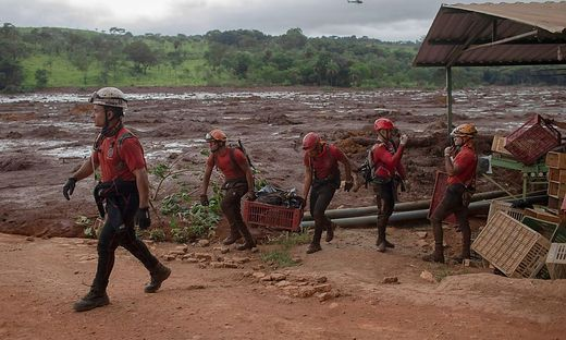 Die Schlammlawine in Brasilien