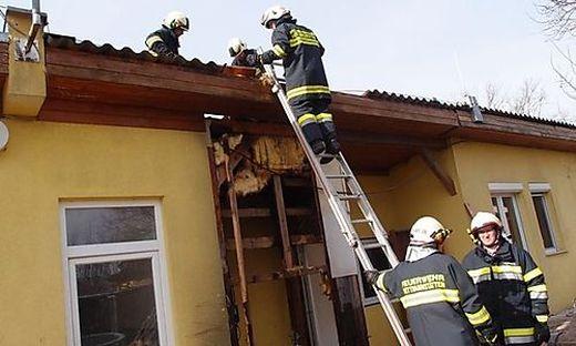 Feuer in Zehndorf