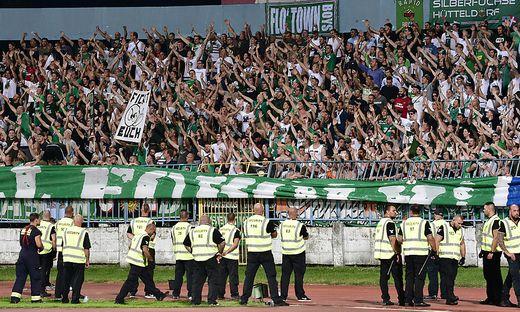 FUSSBALL UEFA EUROPA LEAGUE: SK SLOVAN BRATISLAVA - SK RAPID WIEN