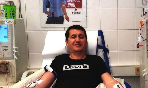 Driton Murati, Stammzellenspender