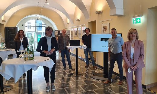 Gelungene Teamarbeit: Tanja Rossmann, Astrid Holler, Robert Konrad, Kevin Walter, Werner Obruly und Helga Sams