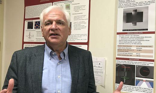 Friedrich Prinz lehrt und forscht an der School of Engeneering an der Stanford University im Slilicon Valley