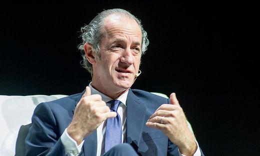 Venetiens Regionspräsident Luca Zaia