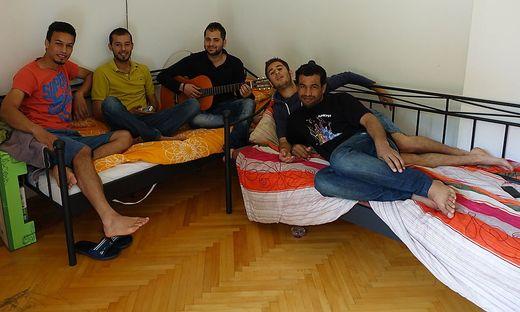 Flüchtlinge in Rosental