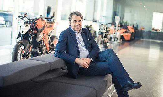Stefan Pierer, Vorstandvorsitzender von KTM