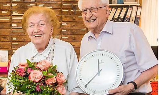 Maria Kremsner ist 90 Jahre jung, ihr Mann Willi 89