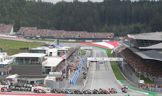 Volle Tribünen bei der MotoGP in Spielberg