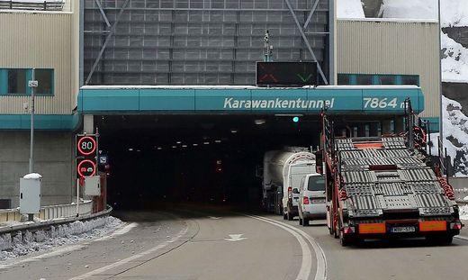 In Kärnten wird die zweite Tunellröhre seit September 2018 gebohrt