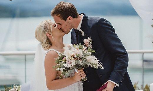 Der Kärntner Fabian Schubert heiratete seine Anja in Pörtschach