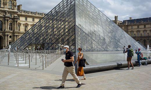 Auch der Louvre verzeichnet ein massives Besucherplus