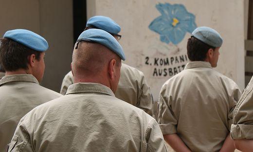 Einsatz des Bundesheeres am Golan 2013