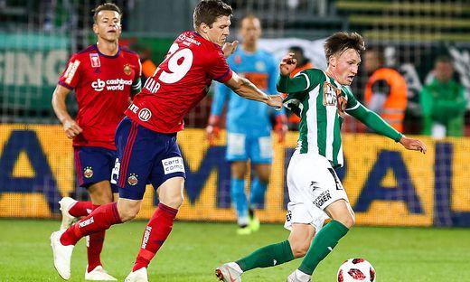 FUSSBALL: UNIQA OeFB CUP / SV BAUWELT KOCH MATTERSBURG - SK RAPID WIEN