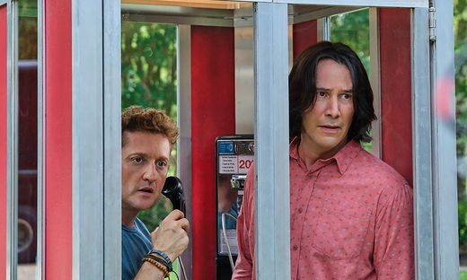 """Alex Winter und Keanu Reeves in """"Bill & Ted face the Music"""""""