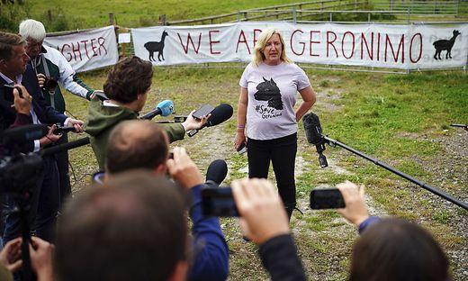 Geronimos Besitzerin war davon überzeugt, dass das Tier gesund ist und weigerte sich, das Alpaka einzuschläfern