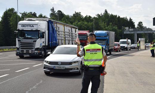 """Die Finanzpolizei führte in der Südsteiermark eine """"Aktion scharf"""" durch"""