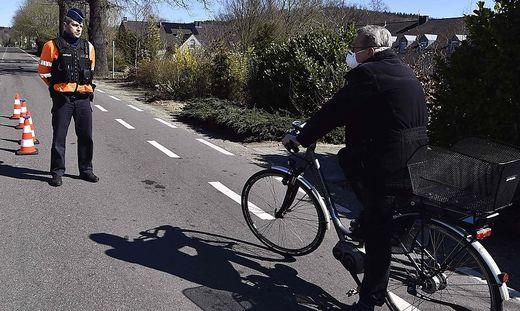 Polizeikontrolle in Belgien
