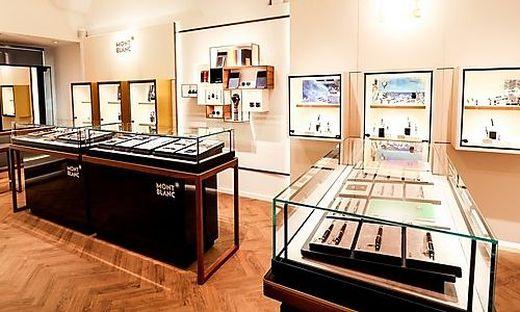 Am 17. Mai wird der neue Montblanc-Shop eröffnet