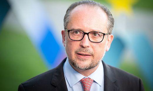 Östererreichs Außenminister Alexander Schallenberg