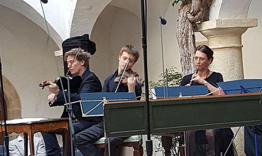 Tobias Moretti, Florian Hasenburger und Julia Moretti