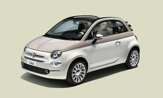 Das Sondermodell zum 60. Geburtstag des Fiat 500