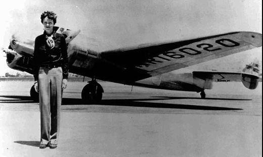 US-Flugpionierin Amelia Earhart