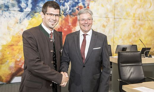 Martin Gruber und Peter Kaiser wollen die Bundespolitik außen vor lassen