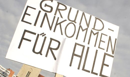 Grundeinkommen fuer alle - basic income for everyone