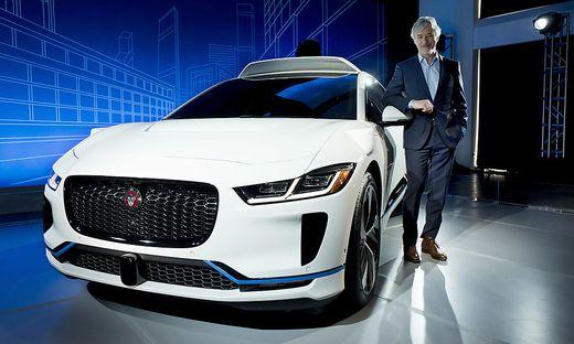 Waymo setzt auf den Jaguar I-Pace, der in Graz gebaut wird