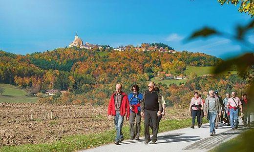 Für die 16 Kilometer rund um Pöllau sollte man sich rund fünf Stunden Zeit nehmen