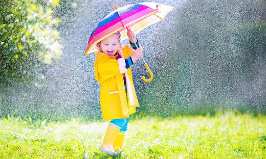 Der Regenschirm bleibt in den nächsten Tagen in Kärnten ständiger Begleiter