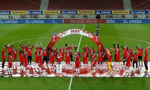 Salzburg triumphierte in der abgelaufenen Cup-Saison