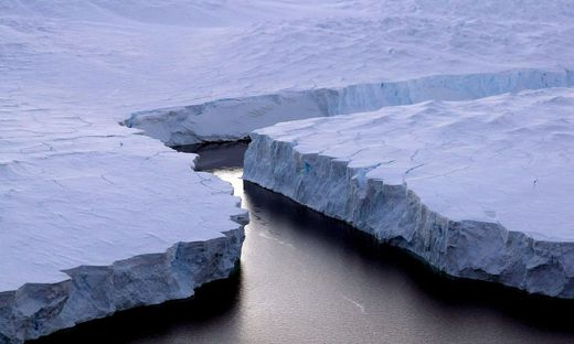 Eisschmelze in der Antarktis