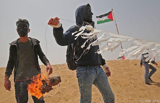 Ein Toter bei Protesten im Gazastreifen