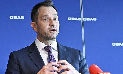 Alleinvorstand der staatlichen Beteiligungsholding ÖBAG, Thomas Schmid