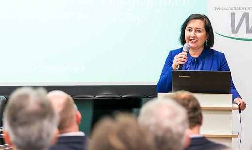 Bildungsdirektorin Elisabeth Meixner