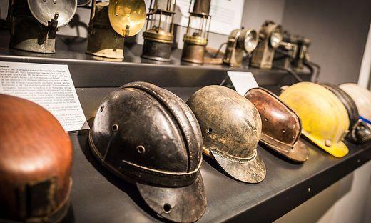 Viele Exponate sind Leihgaben ehemaliger Bergleute oder deren Familien