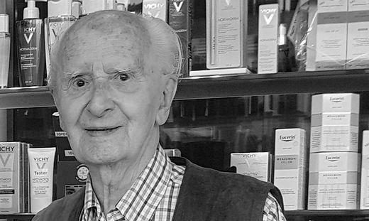 Felix Gall war bis zuletzt in der Apotheke aktiv