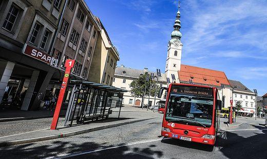 Klagenfurt Heiligengeistplatz Bus