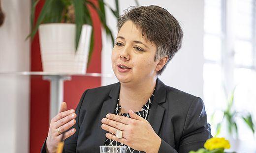 """Kärntens Grünen-Chefin Olga Voglauer: """"Die Grenzen der Amtsfähigkeit von Kanzler Kurz sind erreicht."""""""