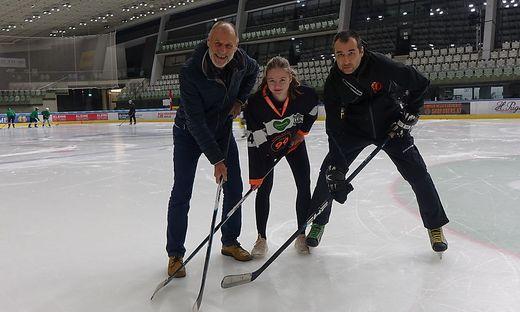Marja Linzbichler spielt beim Damen-Eishockey-Club Devils Graz