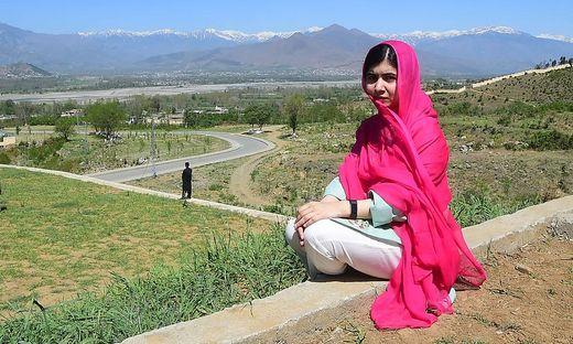 Die pakistanische Friedensnobelpreisträgerin Malala Yousafzai