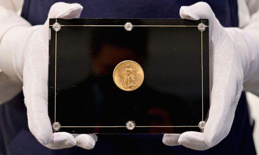 """In den 30er-Jahren geprägt, kam die Münze aus der """"Double Eagle""""-Serie nie in Umlauf"""