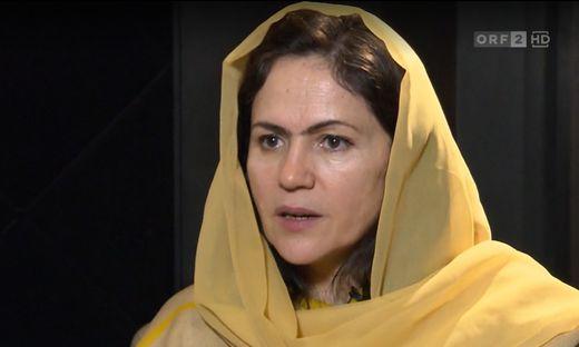 Koofi war die erste Frau in Afghanistan, die den Posten der stellvertretenden Parlamentssprecherin innehatte