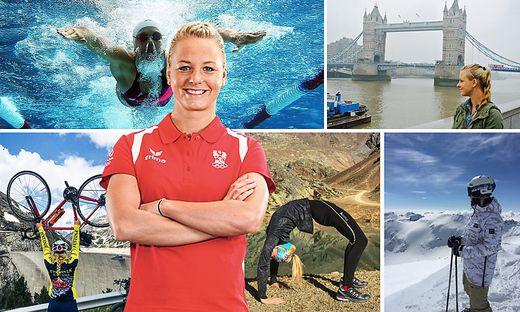 Lisa Zaiser genießt die Natur, sie liebt London und die englische Sprache und hat Gefallen an Yoga gefunden