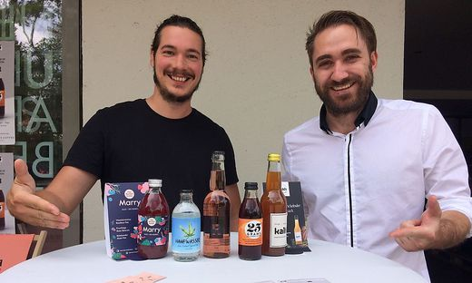 Bis 21. Juli: Urban Drinks Pop Up Store